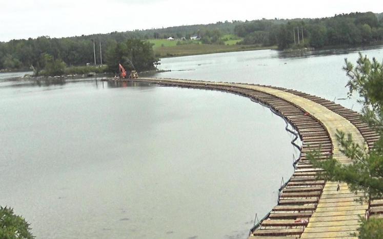 CMP GSB floating road